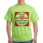 Sotomayor Femist Bigot Green T-Shirt