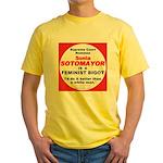 Sotomayor Femist Bigot Yellow T-Shirt