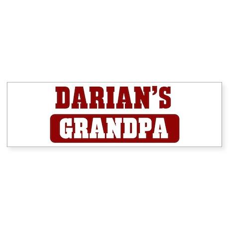 Darians Grandpa Bumper Sticker