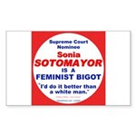 Sotomayor Femist Bigot Rectangle Sticker 50 pk)