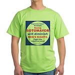 Sotomayor diminish men Green T-Shirt
