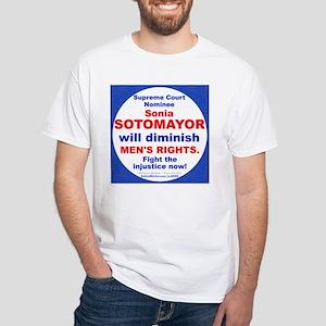 Sotomayor diminish men White T-Shirt