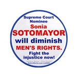 "Sotomayor will diminish men's rights3.5"" Butt"
