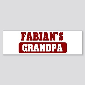 Fabians Grandpa Bumper Sticker
