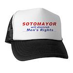 Sotomayor against men Trucker Hat