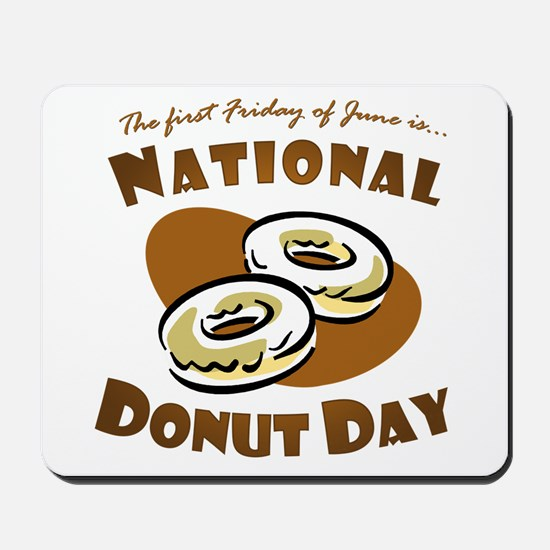 June: National Donut Day Mousepad