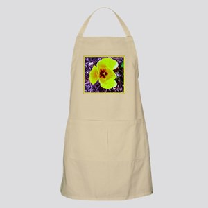 Big Yellow Flower BBQ Apron