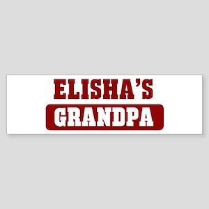 Elishas Grandpa Bumper Sticker