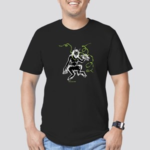 The Great God Pan Men's Fitted T-Shirt (dark)