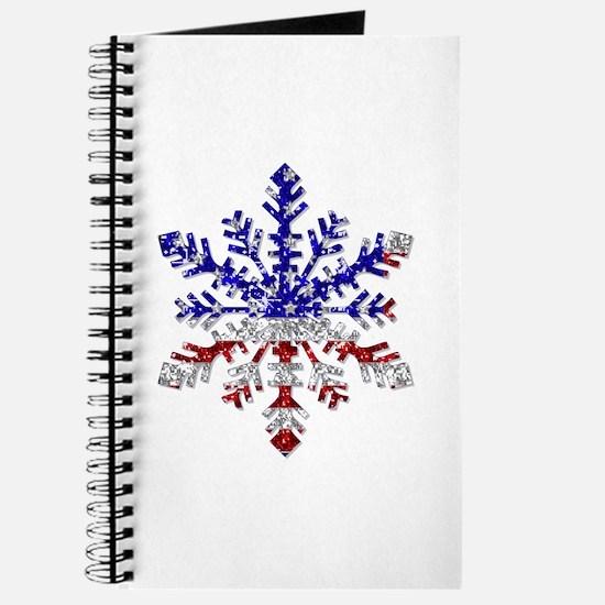 USA Snowflake Journal