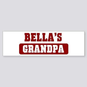 Bellas Grandpa Bumper Sticker