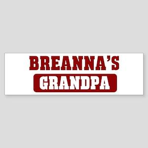 Breannas Grandpa Bumper Sticker