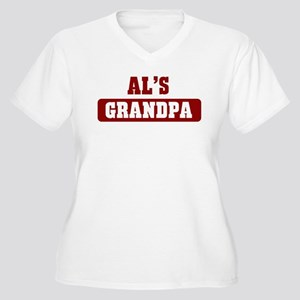 Als Grandpa Women's Plus Size V-Neck T-Shirt