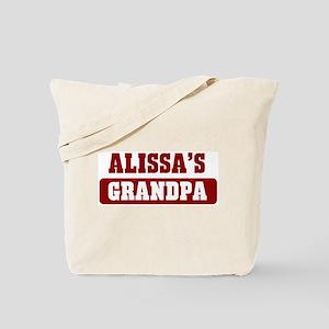 Alissas Grandpa Tote Bag