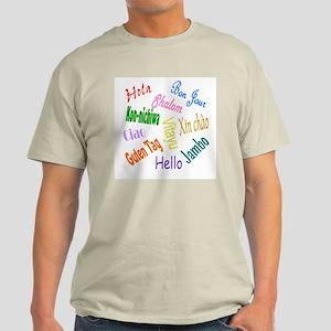 Hello Goodbye Ash Grey T-Shirt