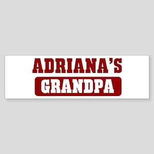 Adrianas Grandpa Bumper Sticker