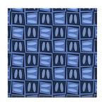 Martini Blues Tile Coaster