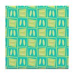 Martini Tropical Tile Coaster