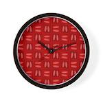 Martini Bloody Mary Wall Clock