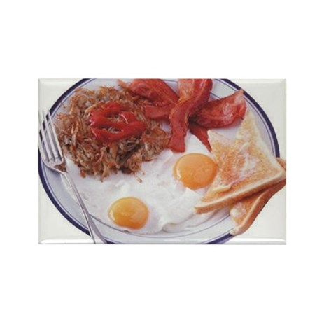 Breakfast Rectangle Magnet (10 pack)