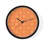 Martini Citrus Wall Clock