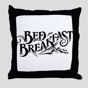 Bed & Breakfast Throw Pillow