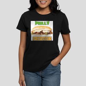 Philly CheeseSteak Women's Dark T-Shirt