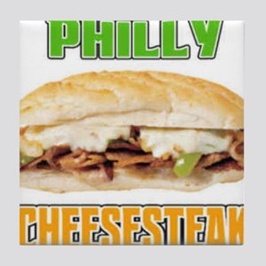 Philly CheeseSteak Tile Coaster