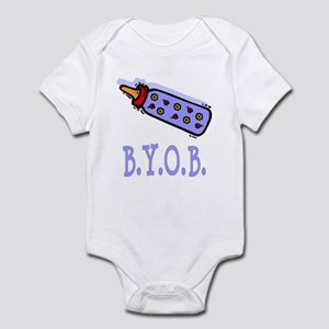 BYOB Baby Bottle Infant Bodysuit