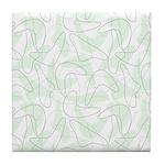 Boomerang Mint Tile Coaster