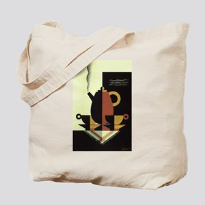 Vintage Coffee Tote Bag