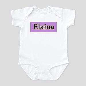 Elaina Infant Bodysuit