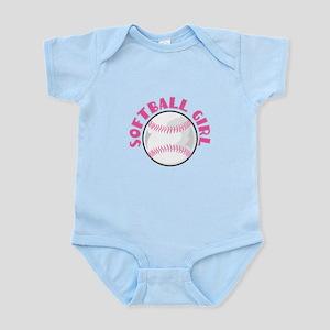 Softball Girl Infant Bodysuit