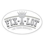 Sir Fix-A-Lot Oval Sticker