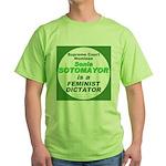 Sotomayor Feminist Green T-Shirt