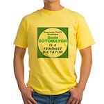 Sotomayor Feminist Yellow T-Shirt