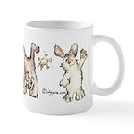 Bunny Rabbits Jump Mug