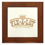 Sir Fix-A-Lot Framed Tile