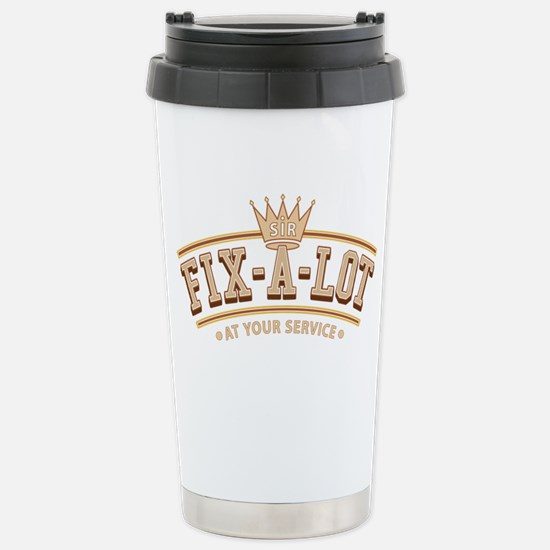 Sir Fix-A-Lot Stainless Steel Travel Mug