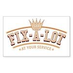 Sir Fix-A-Lot Rectangle Sticker