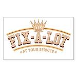 Sir Fix-A-Lot Rectangle Sticker 10 pk)