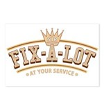 Sir Fix-A-Lot Postcards (Package of 8)
