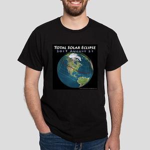 2017 Total Solar Eclipse Dark T-Shirt