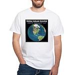 2017 Total Solar Eclipse White T-Shirt