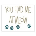 You Had Me at Meow Small Poster