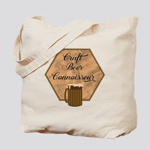 Craft Beer Connoisseur Tote Bag