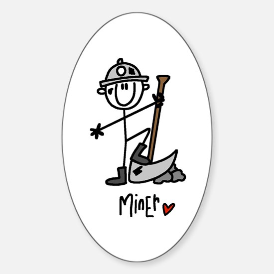 Basic Miner Oval Decal