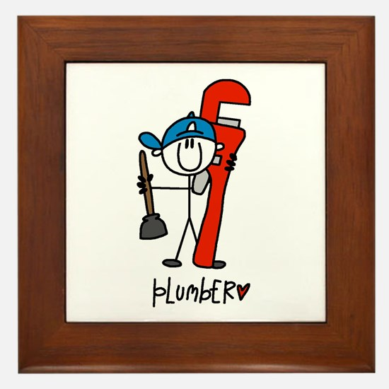 Plumber Framed Tile