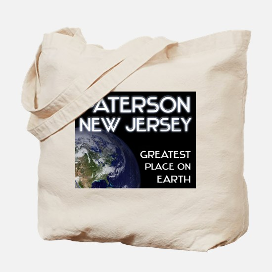 paterson new jersey - greatest place on earth Tote