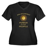 Solar Energy - Power to the People Plus Size T-Shi